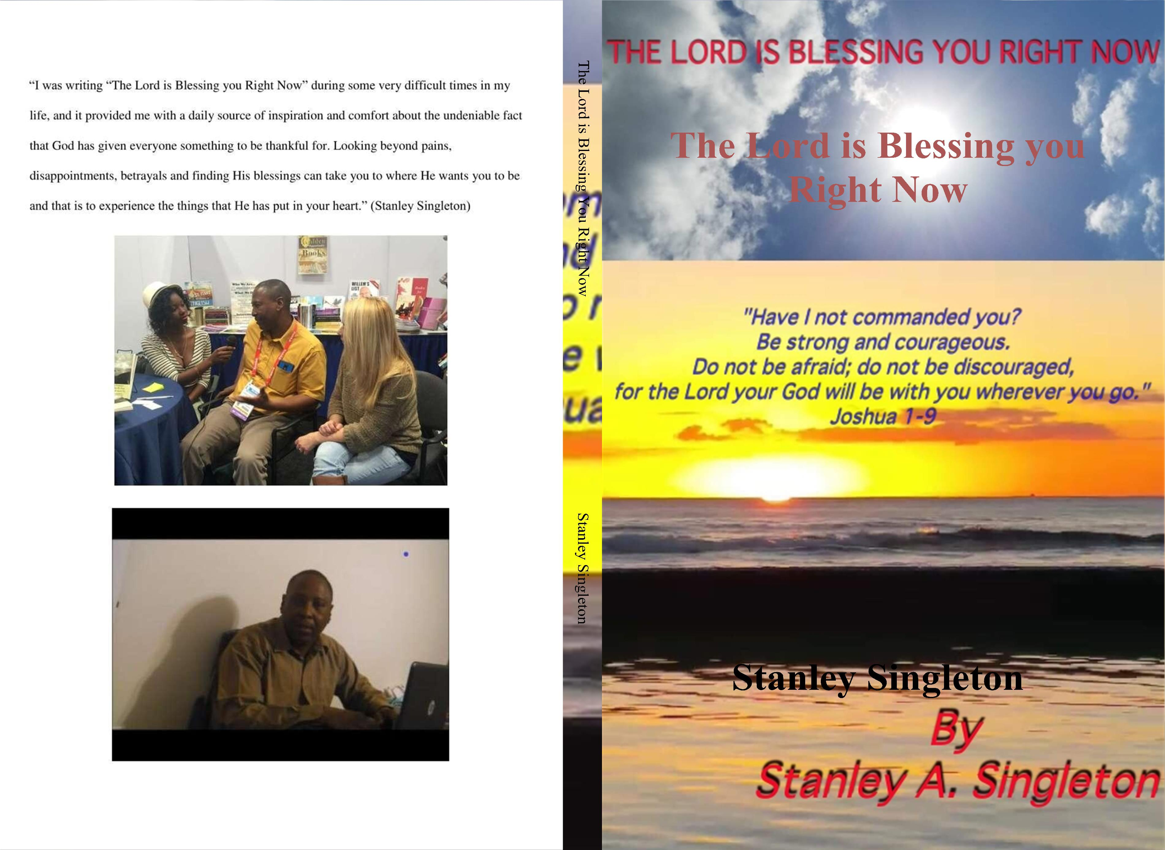 The Lord is Blessing You Right Now cover image