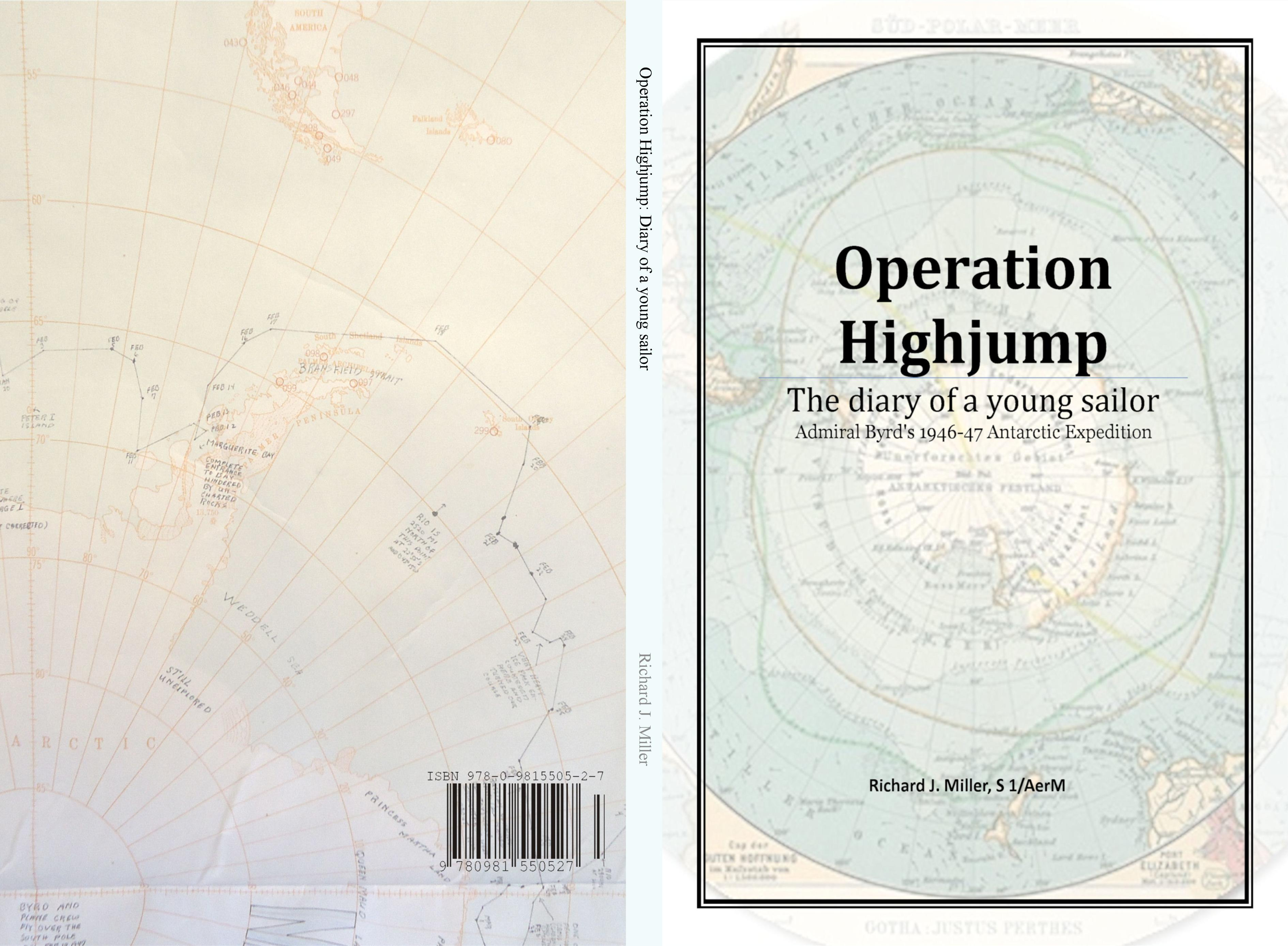 Operation Highjump: Diary of a young sailor cover image