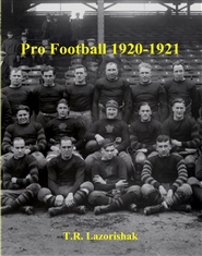 Pro Football 1920-1921 cover image