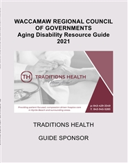 WRCOG AGING DISABILITY RESOURCE GUIDE 2021 cover image