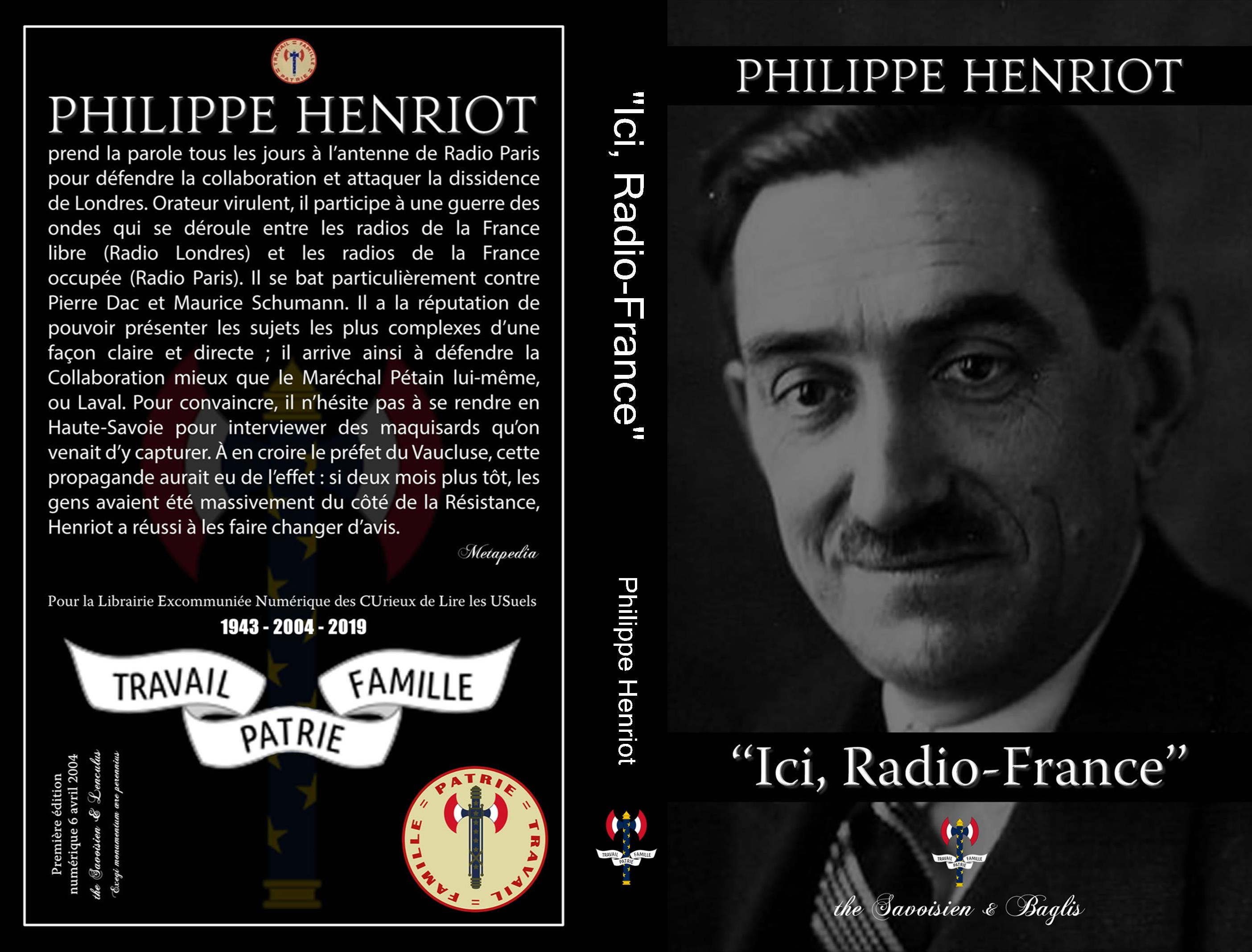 Ici, Radio-France cover image