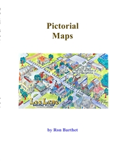 The Cartoon Maps of Ron Barthet cover image