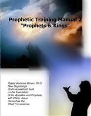 "Prophetic Training Manual 2 ""Prophets & Kings"" cover image"