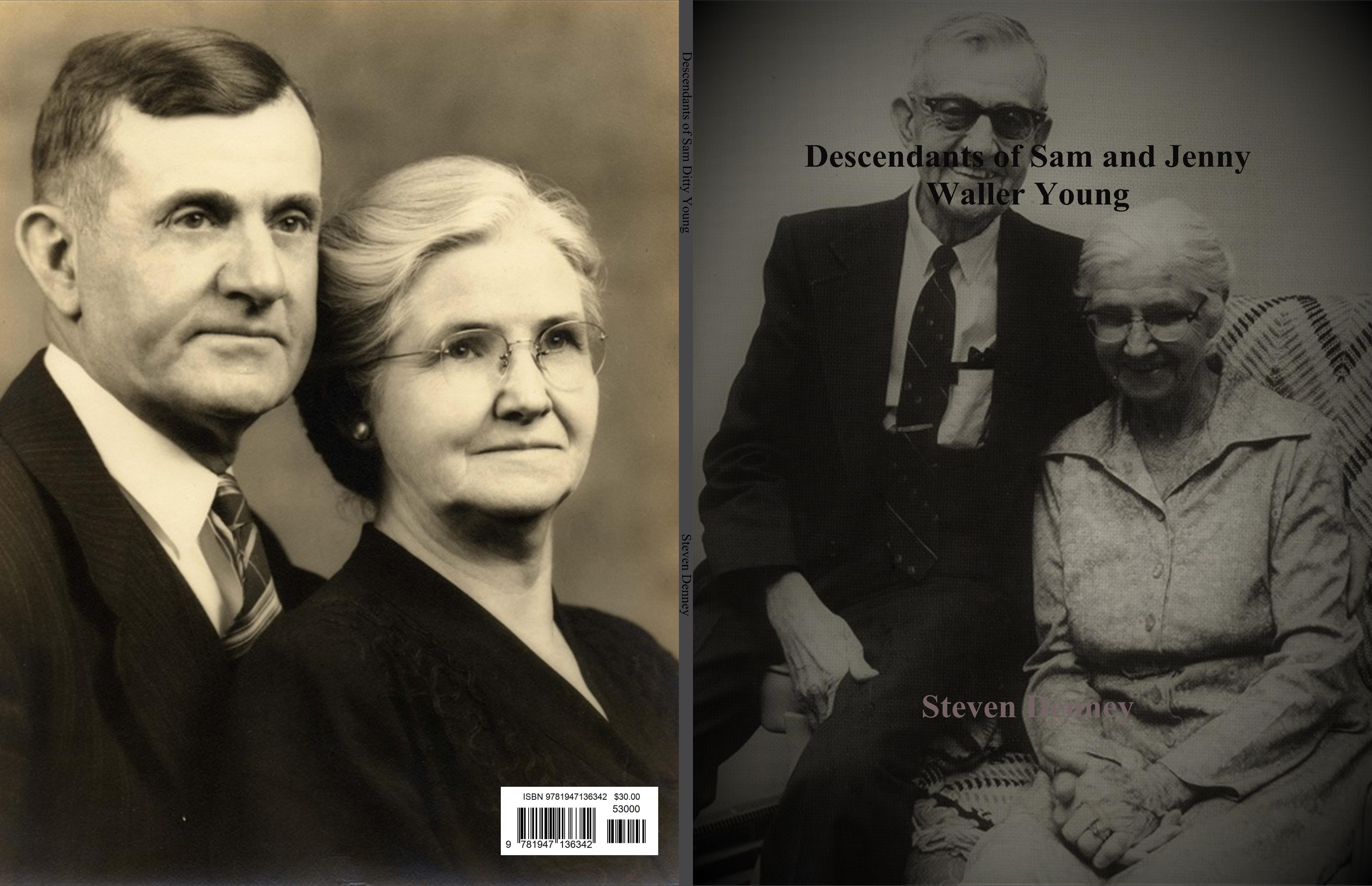 Descendants of Sam and Jenny Waller Young cover image