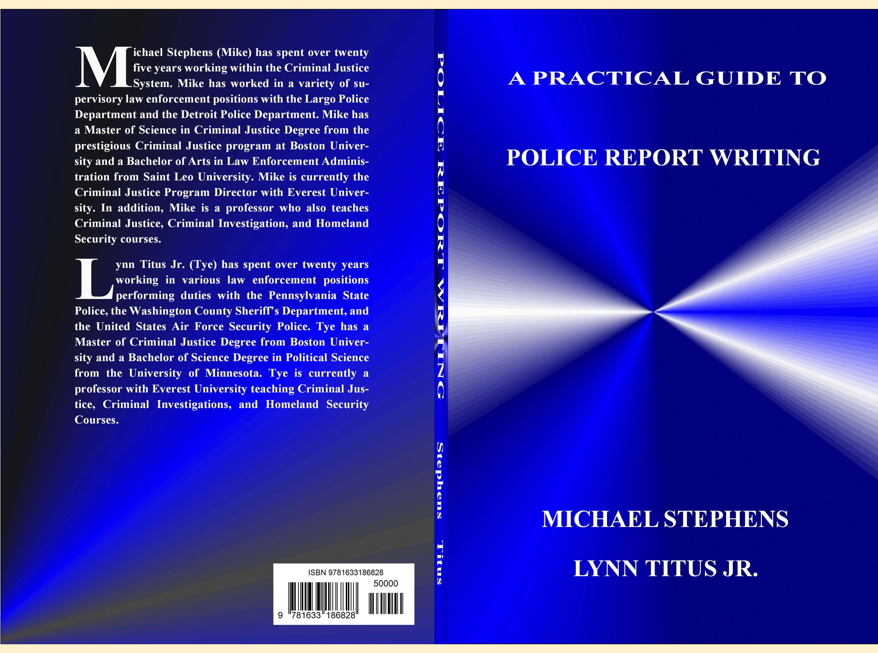 Guidelines for improving your report writing - PoliceOne