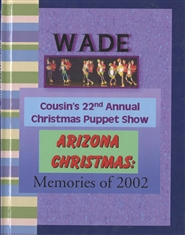 Wade Cousins A to Z Puppet Show cover image