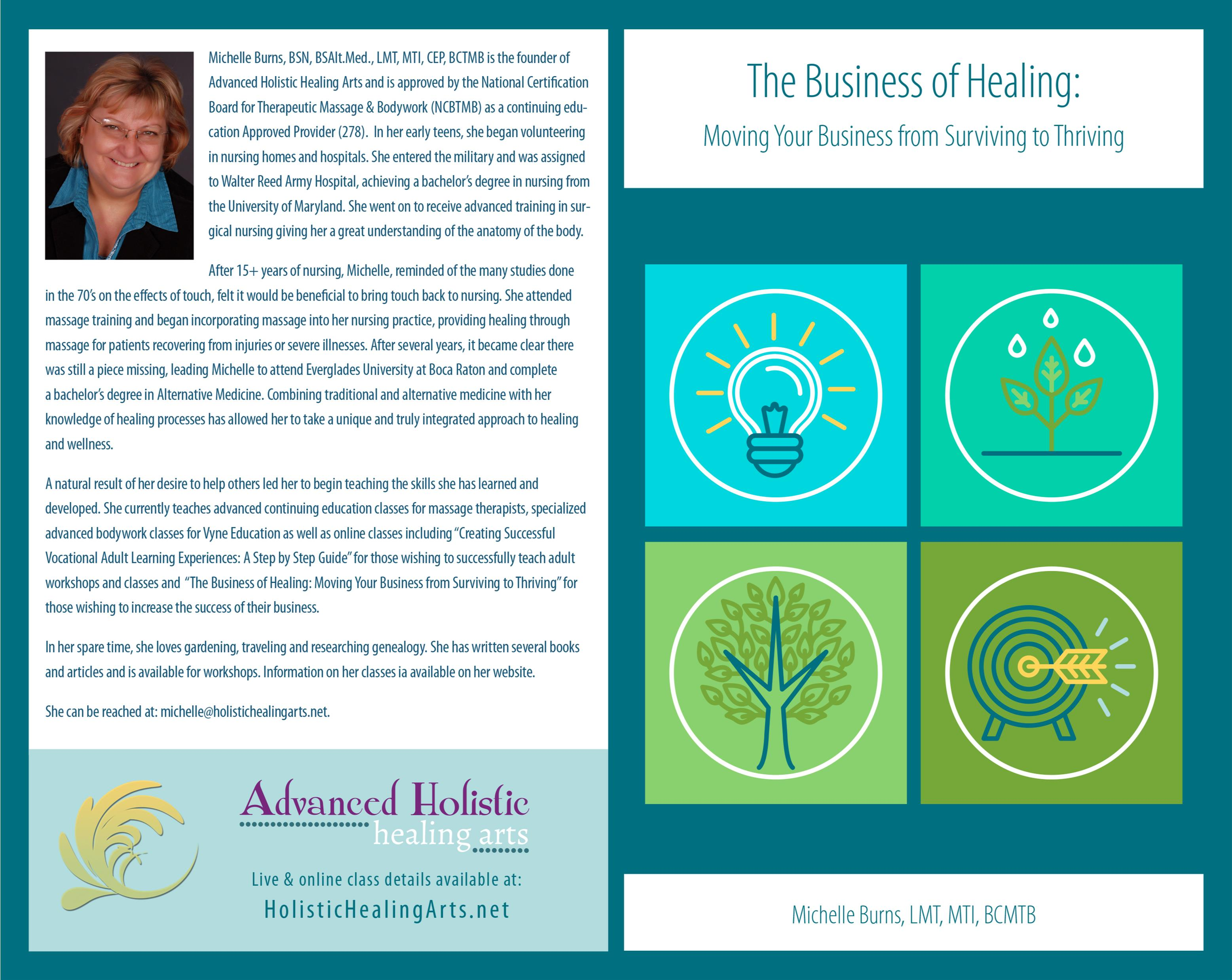 The Business of Healing: Taking Your Business from Surviving to Thriving cover image