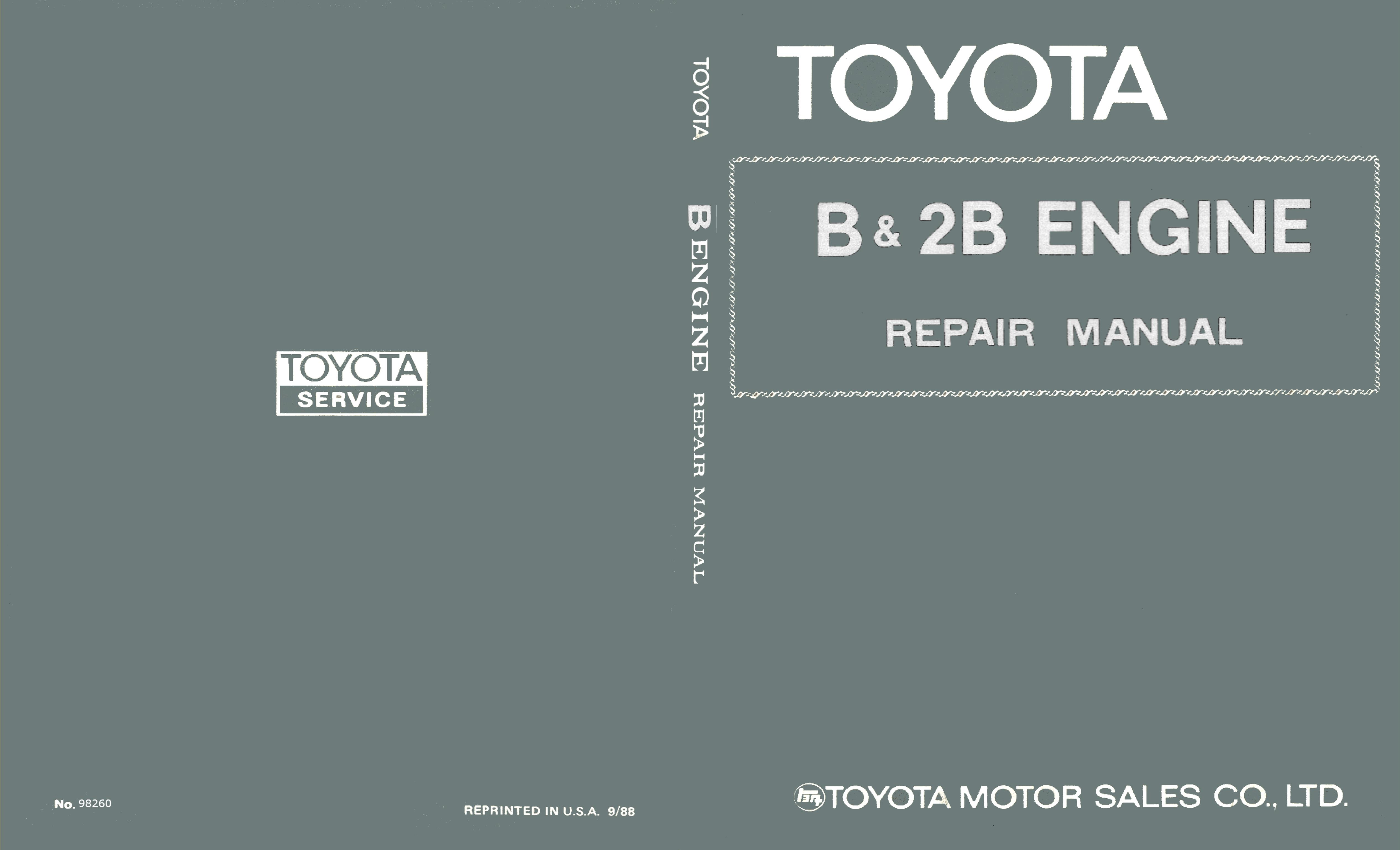 Toyota b 2b engine by clint weis 1700 thebookpatch toyota b 2b engine cover image fandeluxe Choice Image