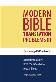 MODERN BIBLE TRANSLATION PROBLEMS III cover image