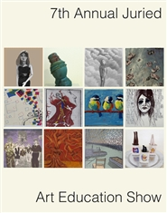 2014 ArtEd show catalogue cover image