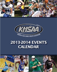 2013-2014 KHSAA Events Calendar cover image