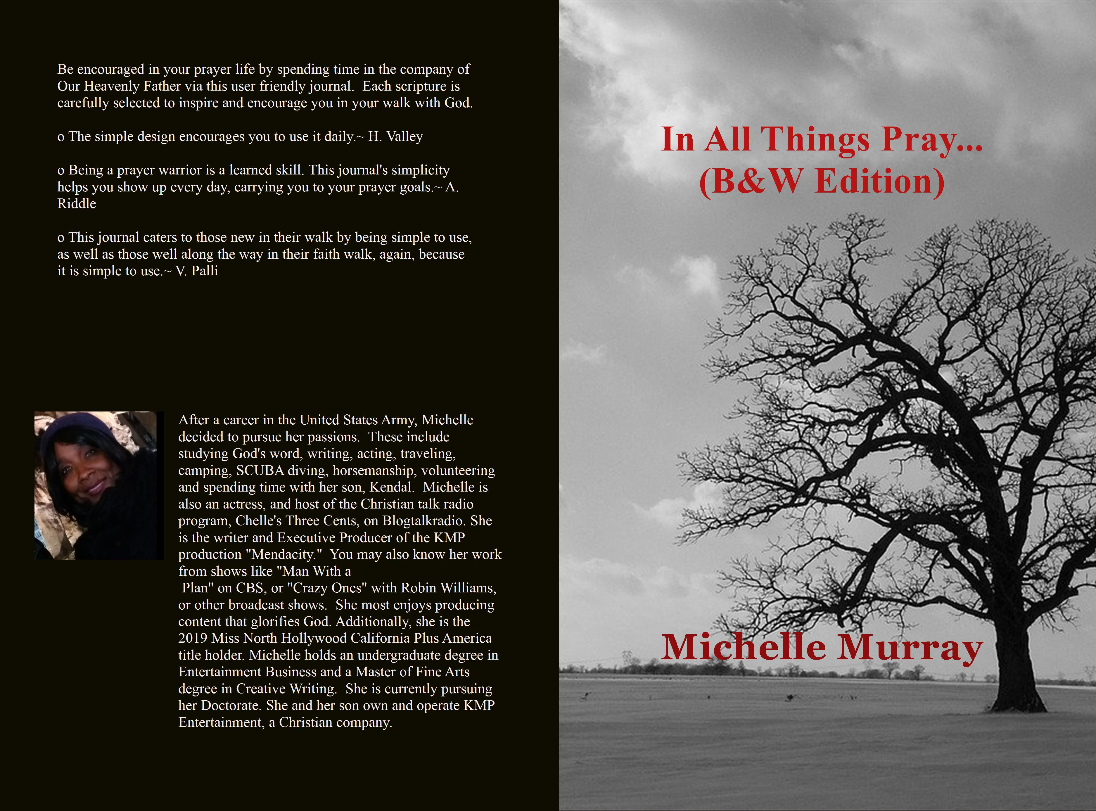 In All Things Pray (B&W Edition) cover image
