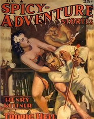 Spicy Adventures 1941 August cover image