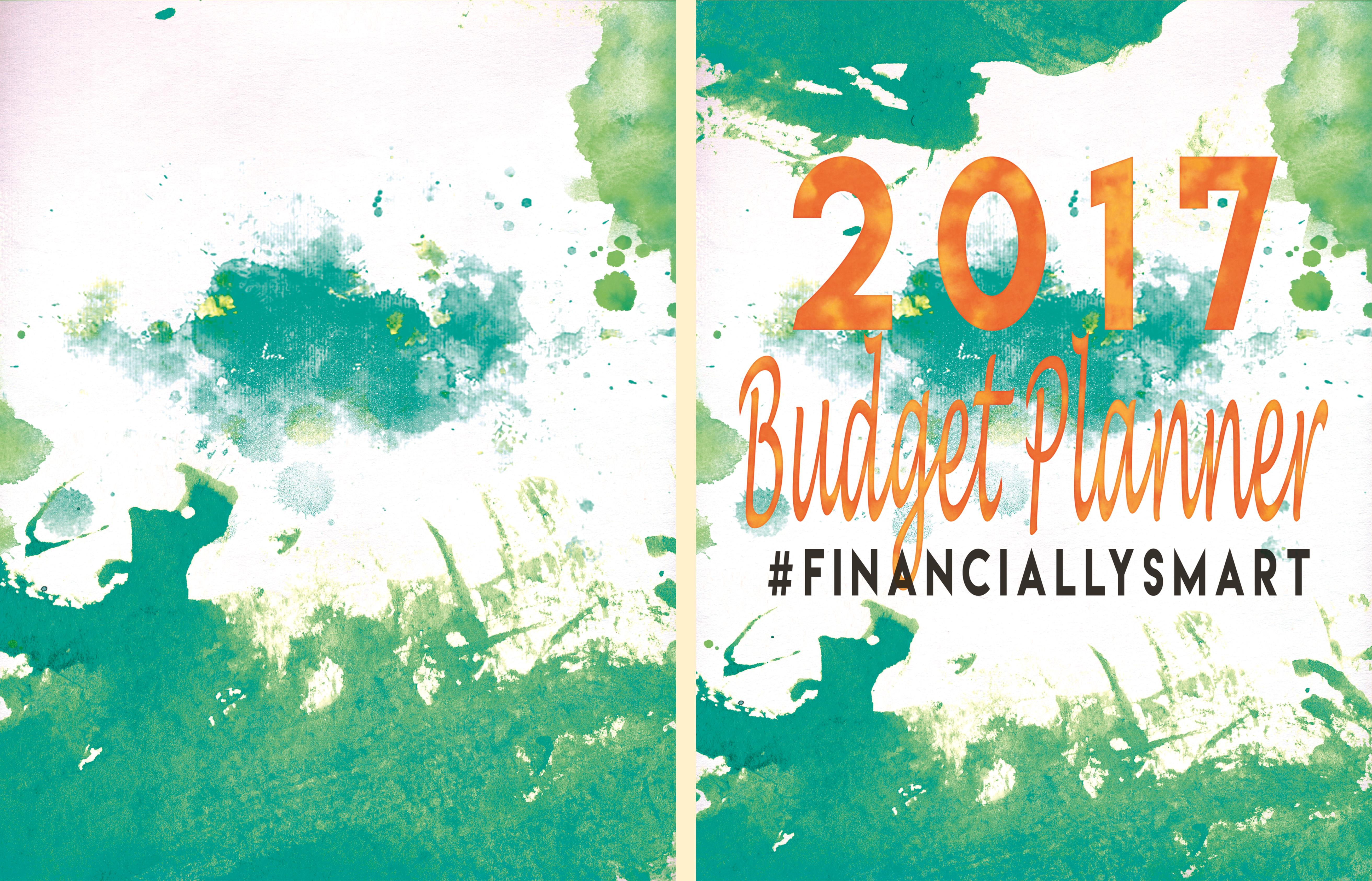 2017 Financially Smart Budget Planner cover image