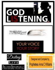 Your Voice Your Story Prayer Journal ...8 1/2 x 11 Black and White Print cover image