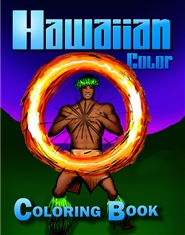 Hawaiian Color Coloring Book cover image