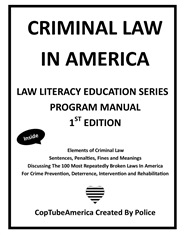 CopTubeAmerica Criminal Law in America (Manual) cover image