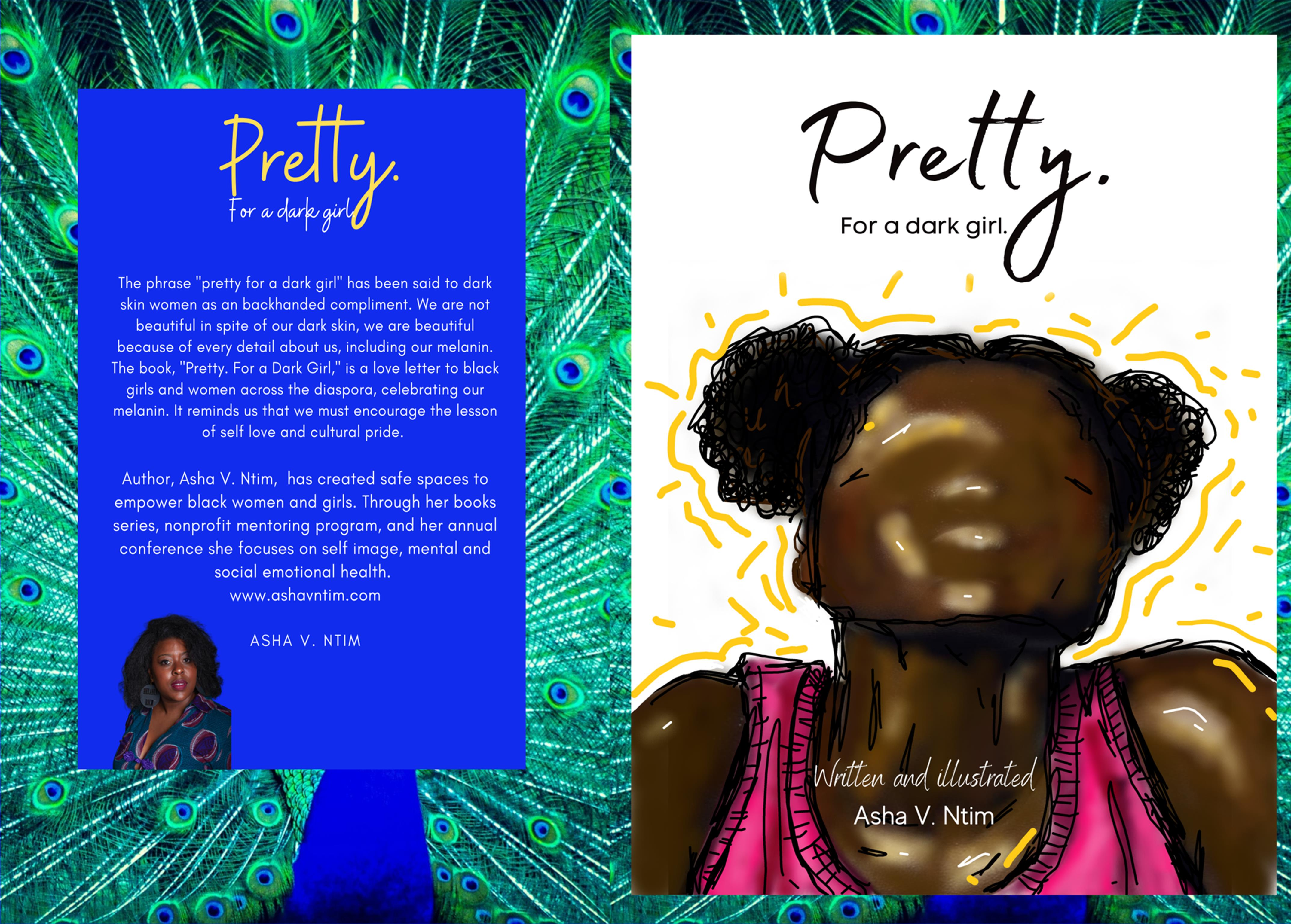 Pretty.   For a dark girl. cover image