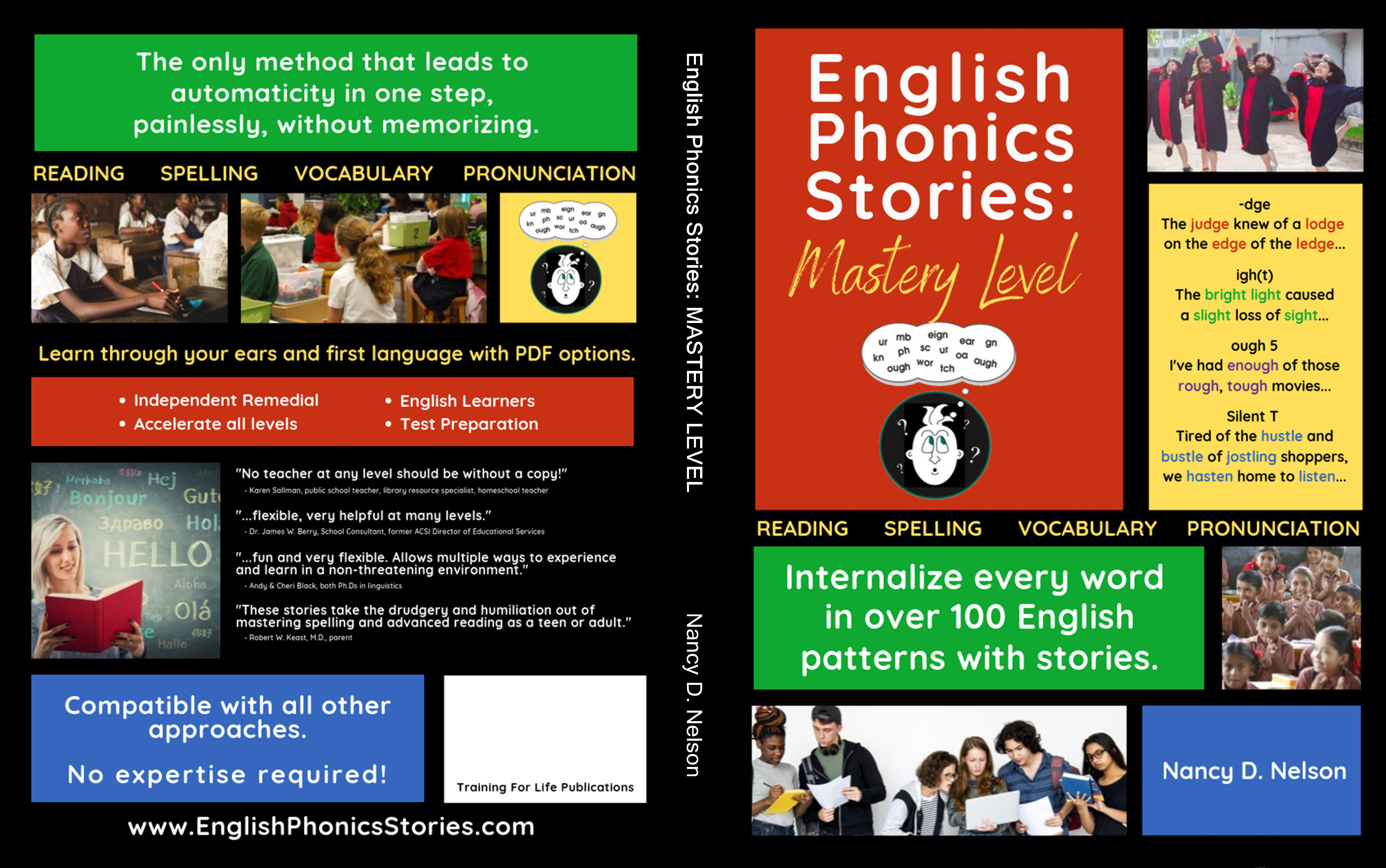 English Phonics Stories: MASTERY LEVEL - MANUAL cover image