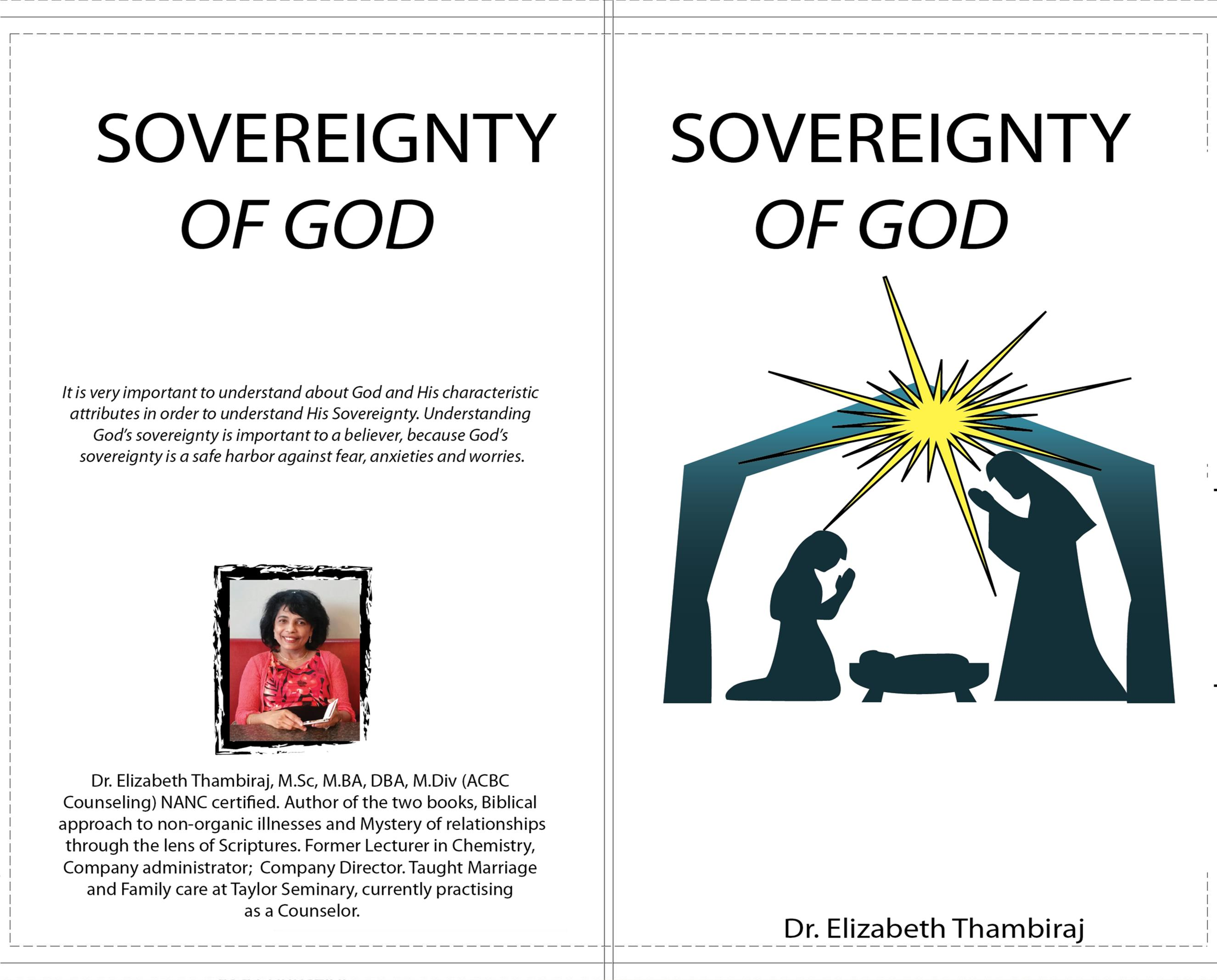 Sovereignty of God cover image