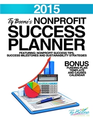 2015 Nonprofit Success Planner cover image