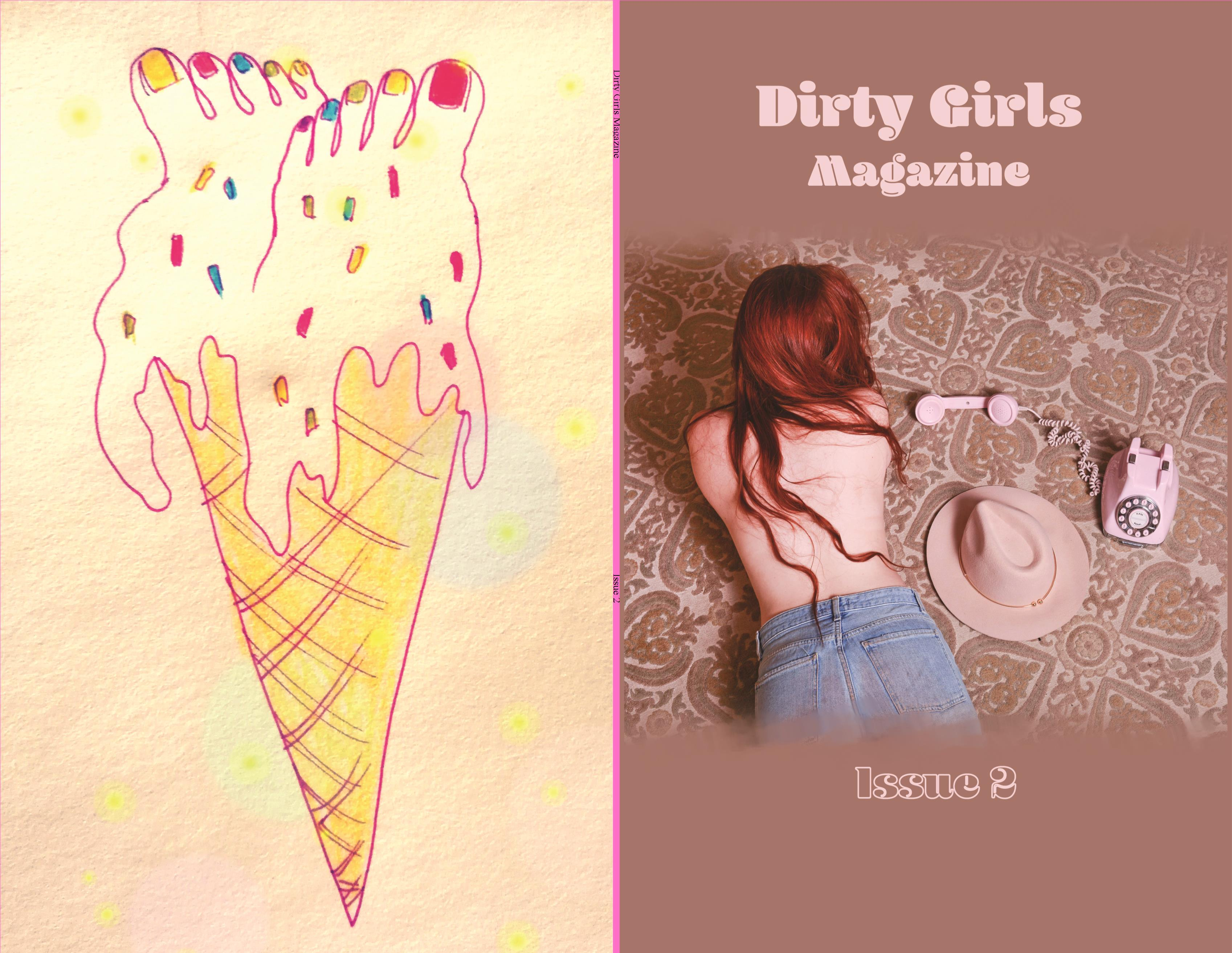 Dirty Girls Magazine Issue 2  cover image