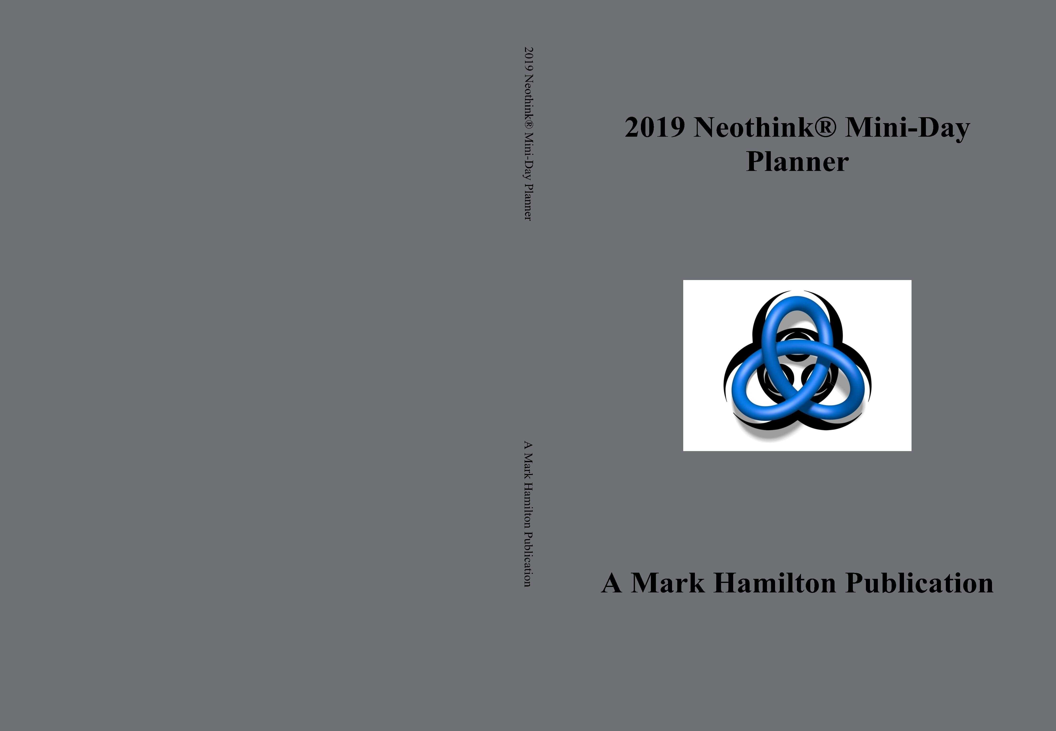 2019 Neothink® Mini-Day Planner cover image
