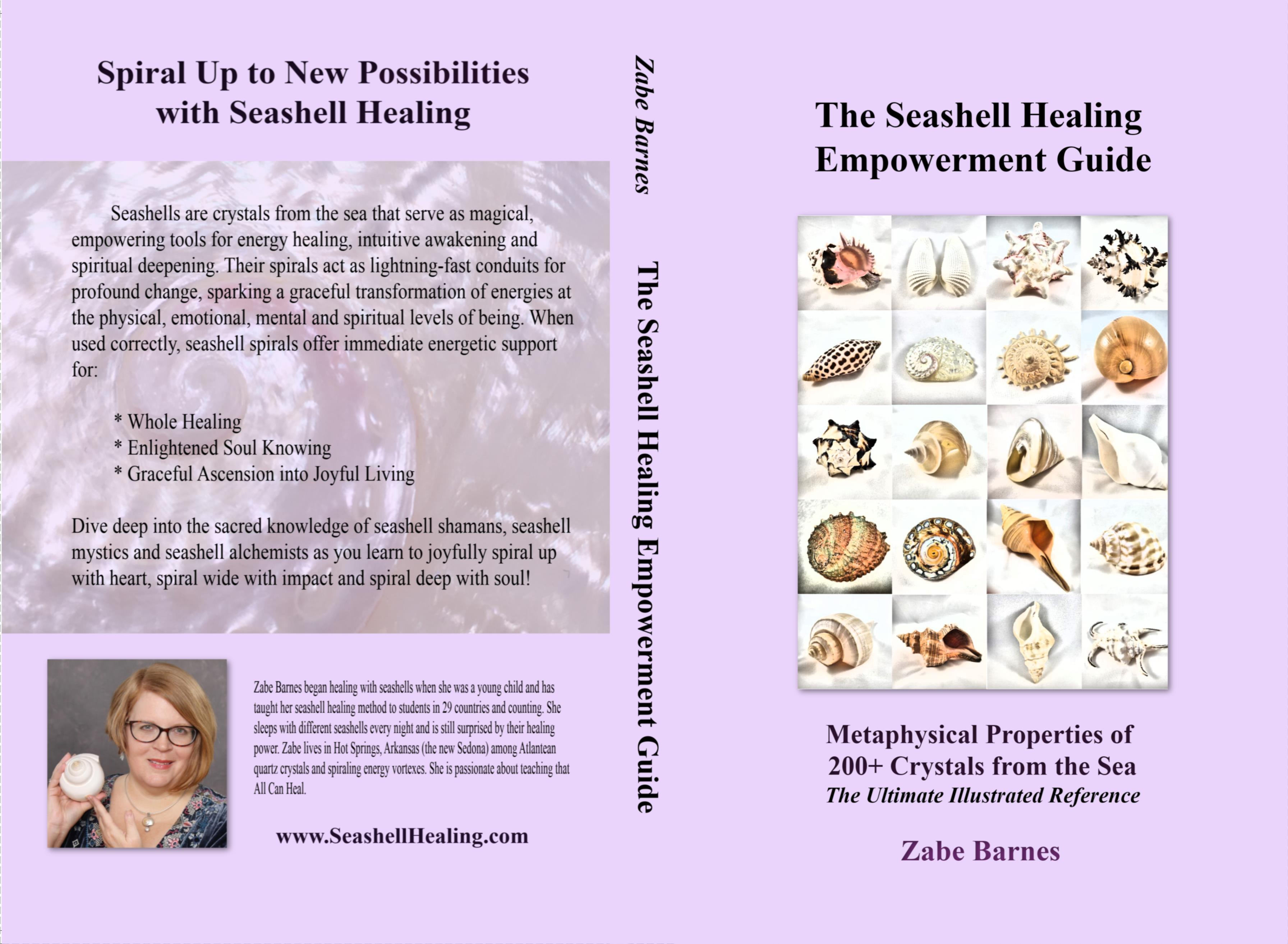The Seashell Healing Empowerment Guide: The Metaphysical Properties of Crystals from the Sea cover image
