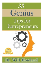 33 Tips for Genius Entrepreneurs  cover image