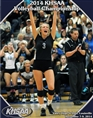 2014 KHSAA Volleyball State Championship Program (B&W) cover image