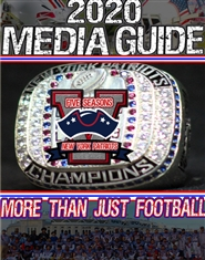 New York Patriots 2020 Media Guide - 5th Anniversary cover image