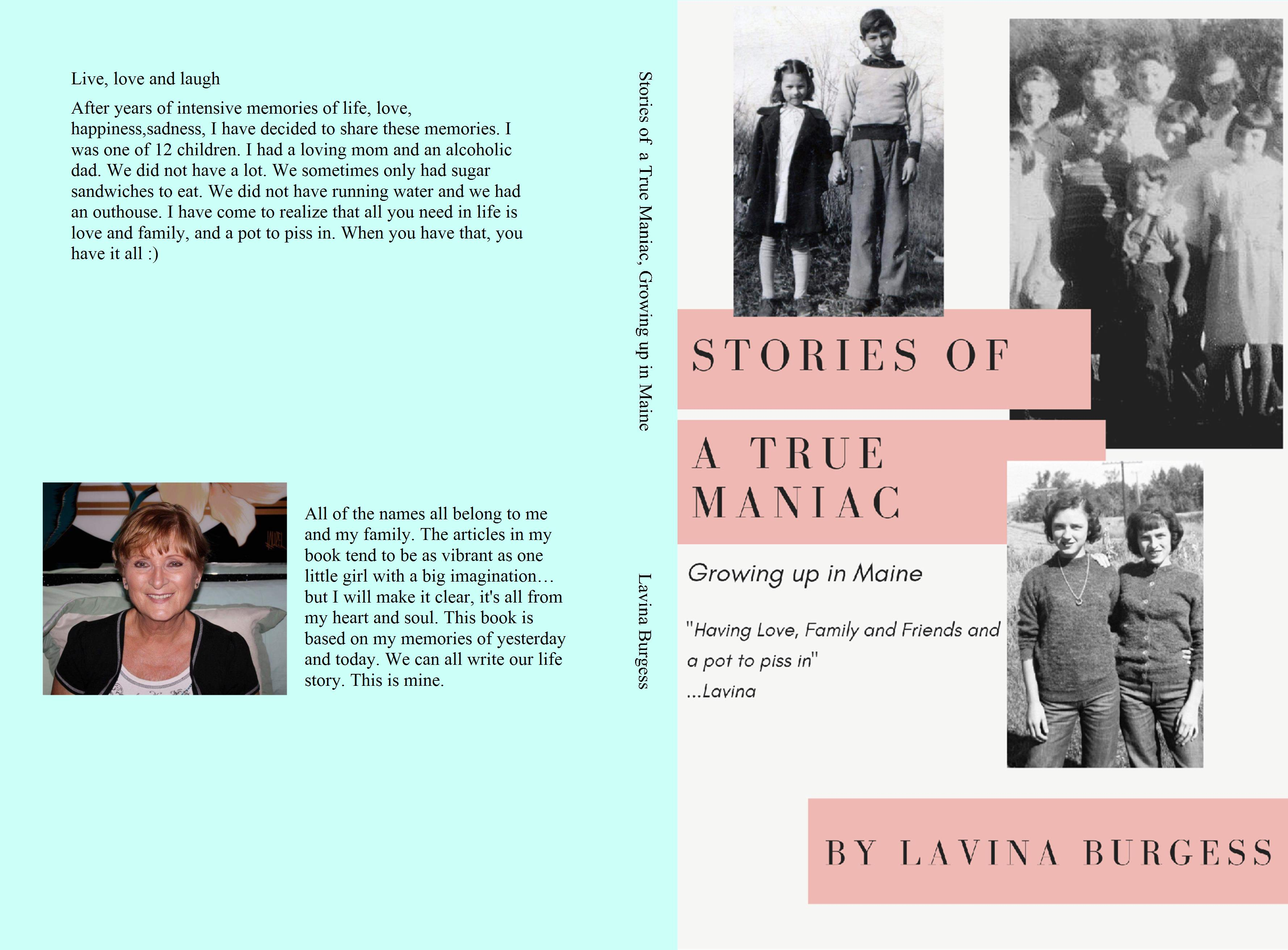 Stories of a True Maniac, Growing up in Maine cover image