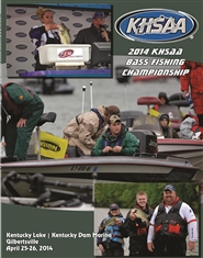 2014 KHSAA Bass Fishing Championship Program cover image