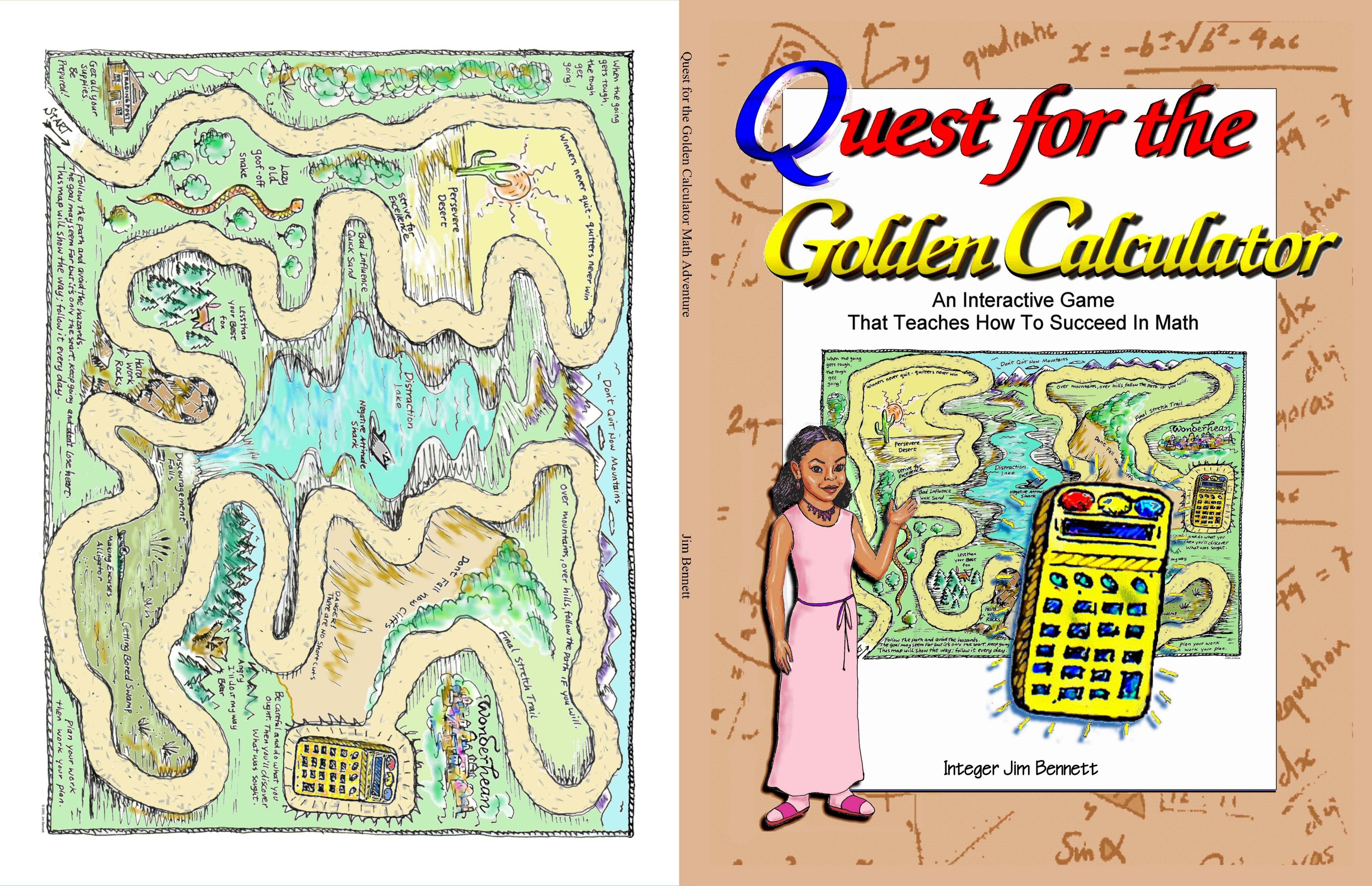 Quest for the Golden Calculator Math Adventure cover image