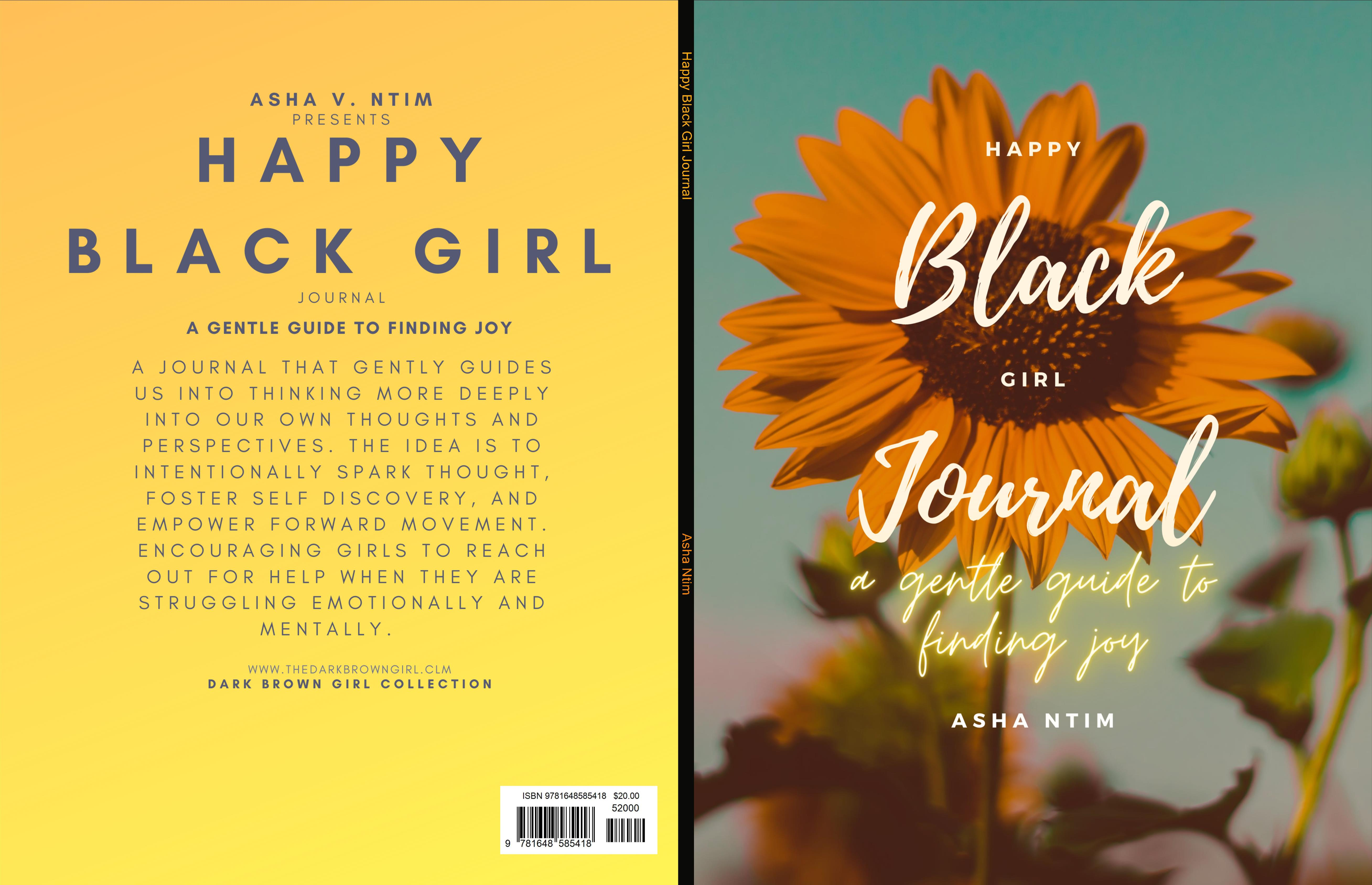 Happy Black Girl Journal cover image