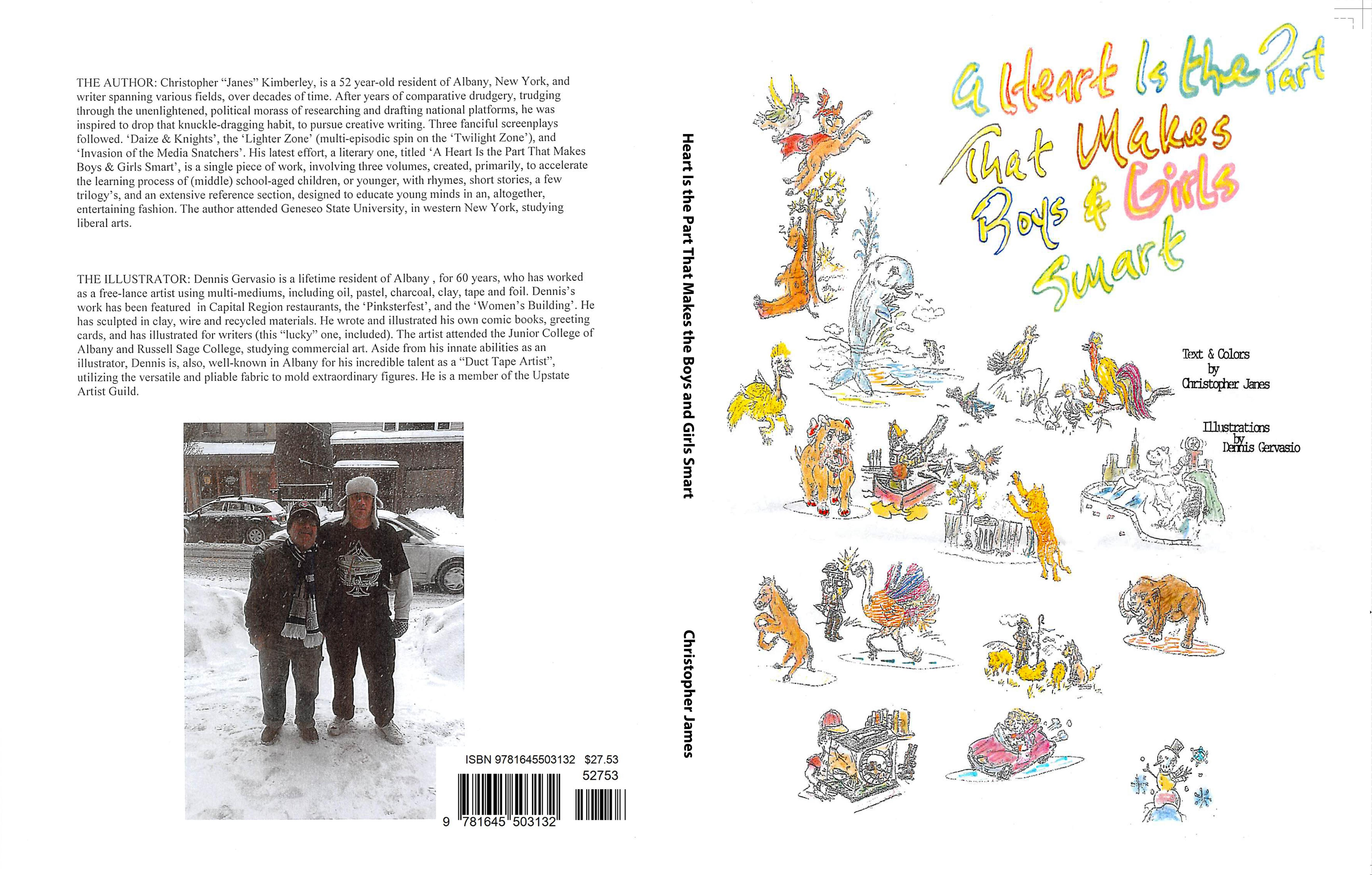 A Heart Is the Part That Makes Boys and Girls Smart cover image