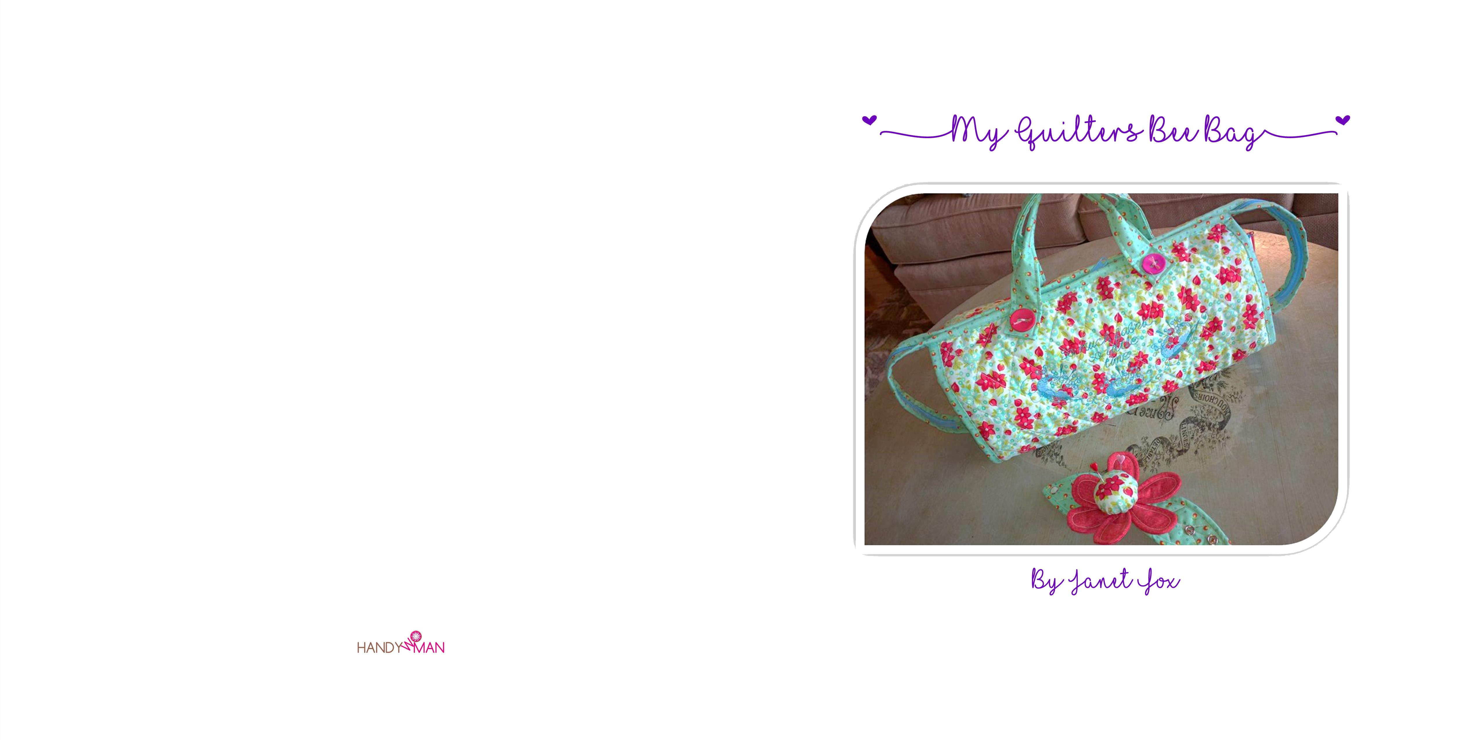 My Quilters Bee Bag cover image