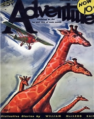 Adventure 1932 October cover image
