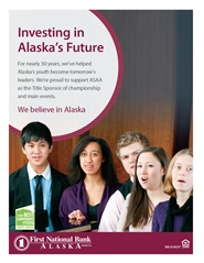2019 ASAA/First National Bank Alaska Solo & Ensemble Music Festival Program cover image