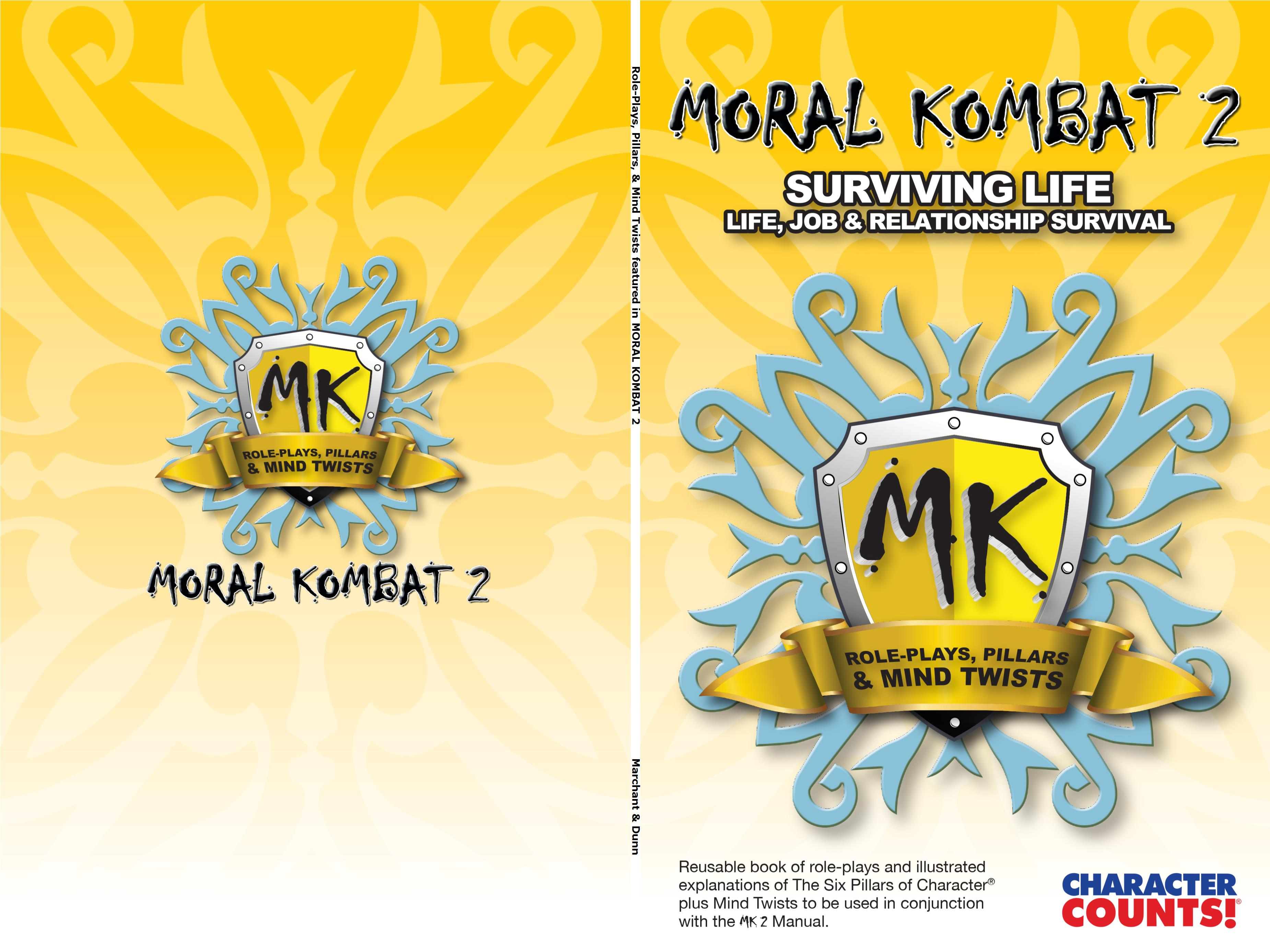 Role-Plays, Pillars, & Mind Twists featured in MORAL KOMBAT 2 Student Manual cover image