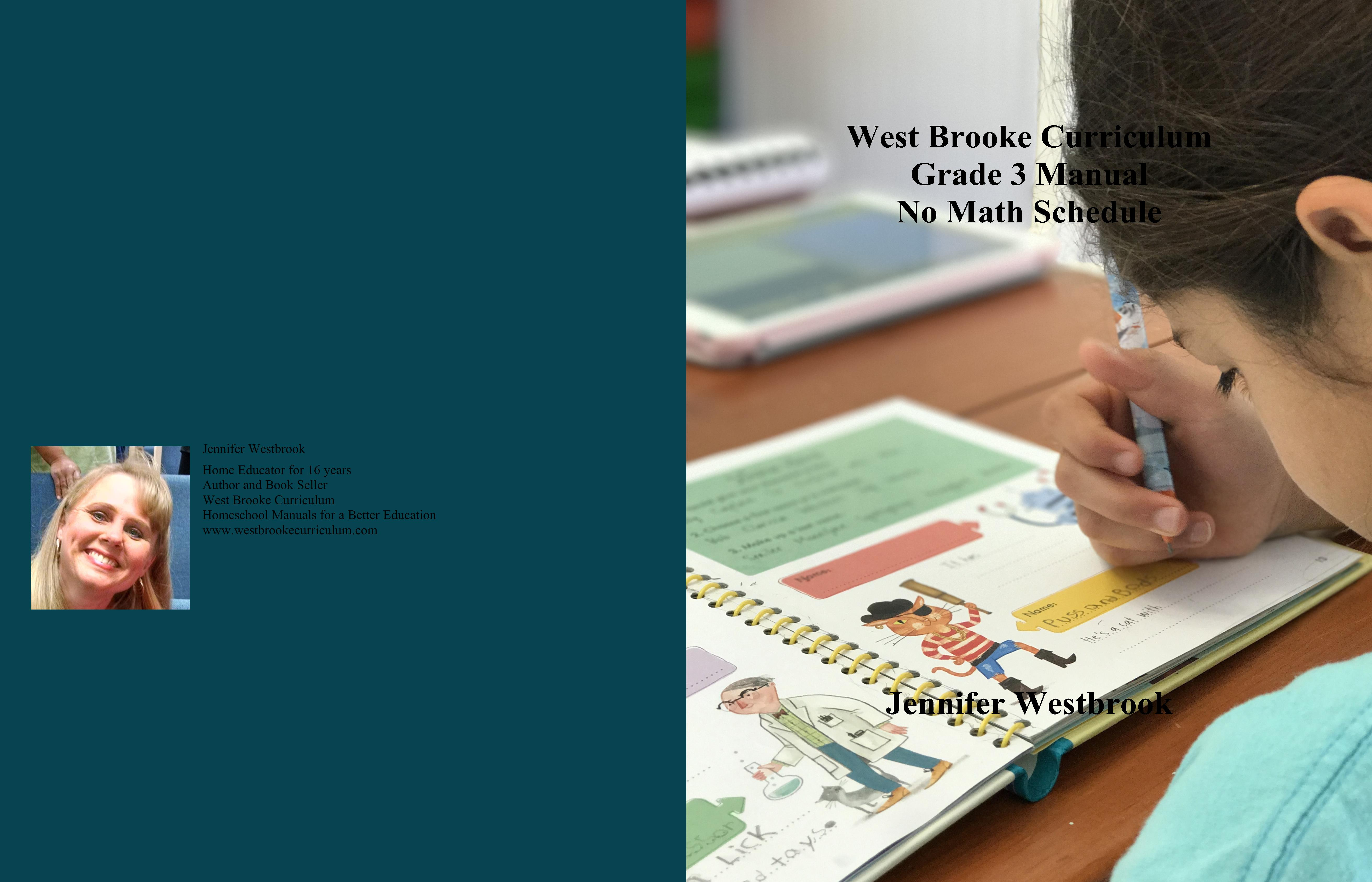 West Brooke Curriculum Grade 3 Manual No Math Schedule cover image