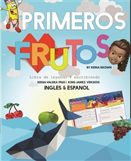 Primero Frutos | First Fruits Reading & Writing Workbook cover image