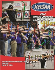 2014 KHSAA Archery State Championship Program cover image