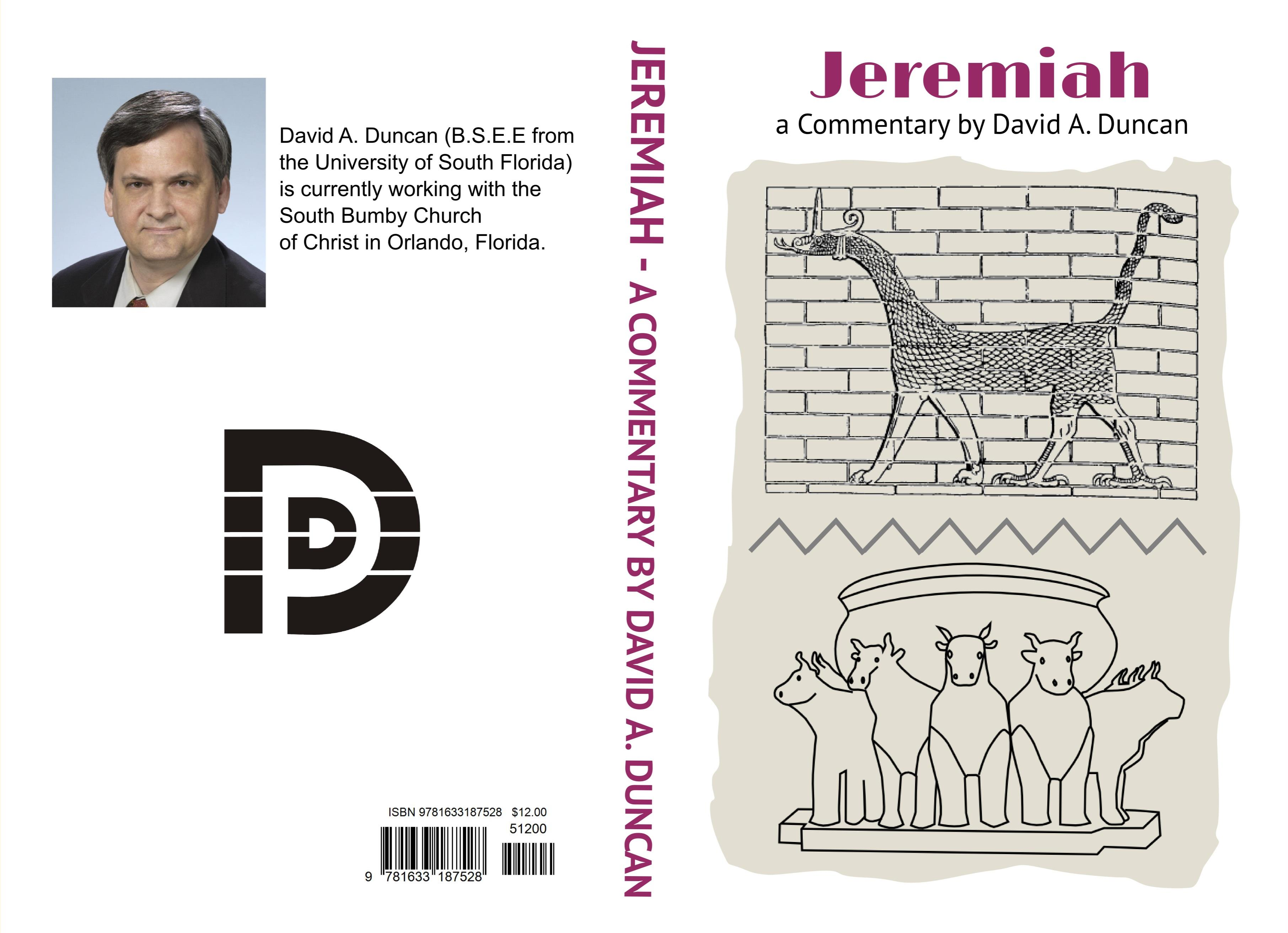 Jeremiah - A Commentary by David A. Duncan cover image