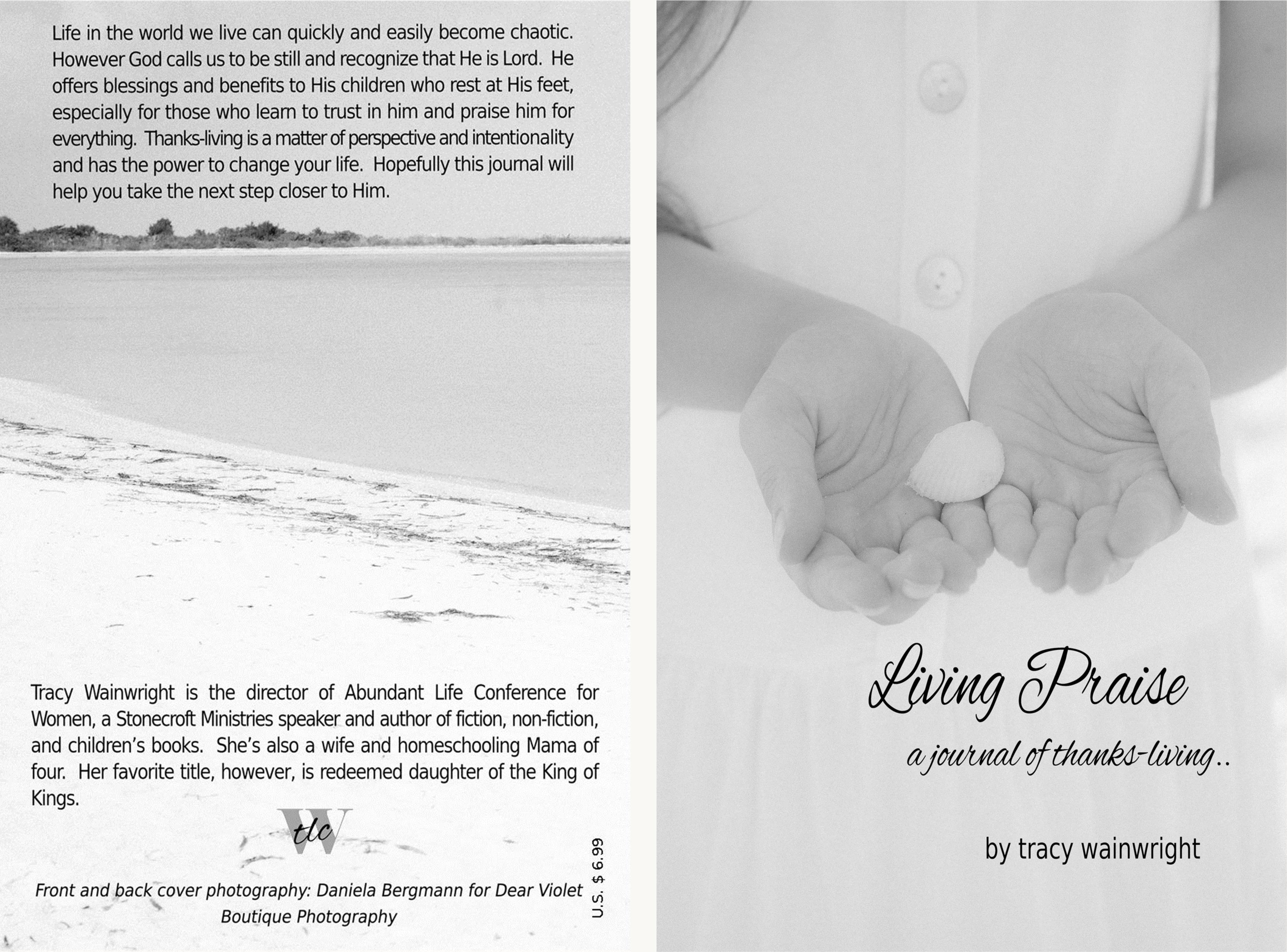 Living Praise: a journal of thanks-living cover image