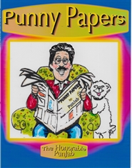 PUNNY PAPERS BY GENE SIMIA cover image