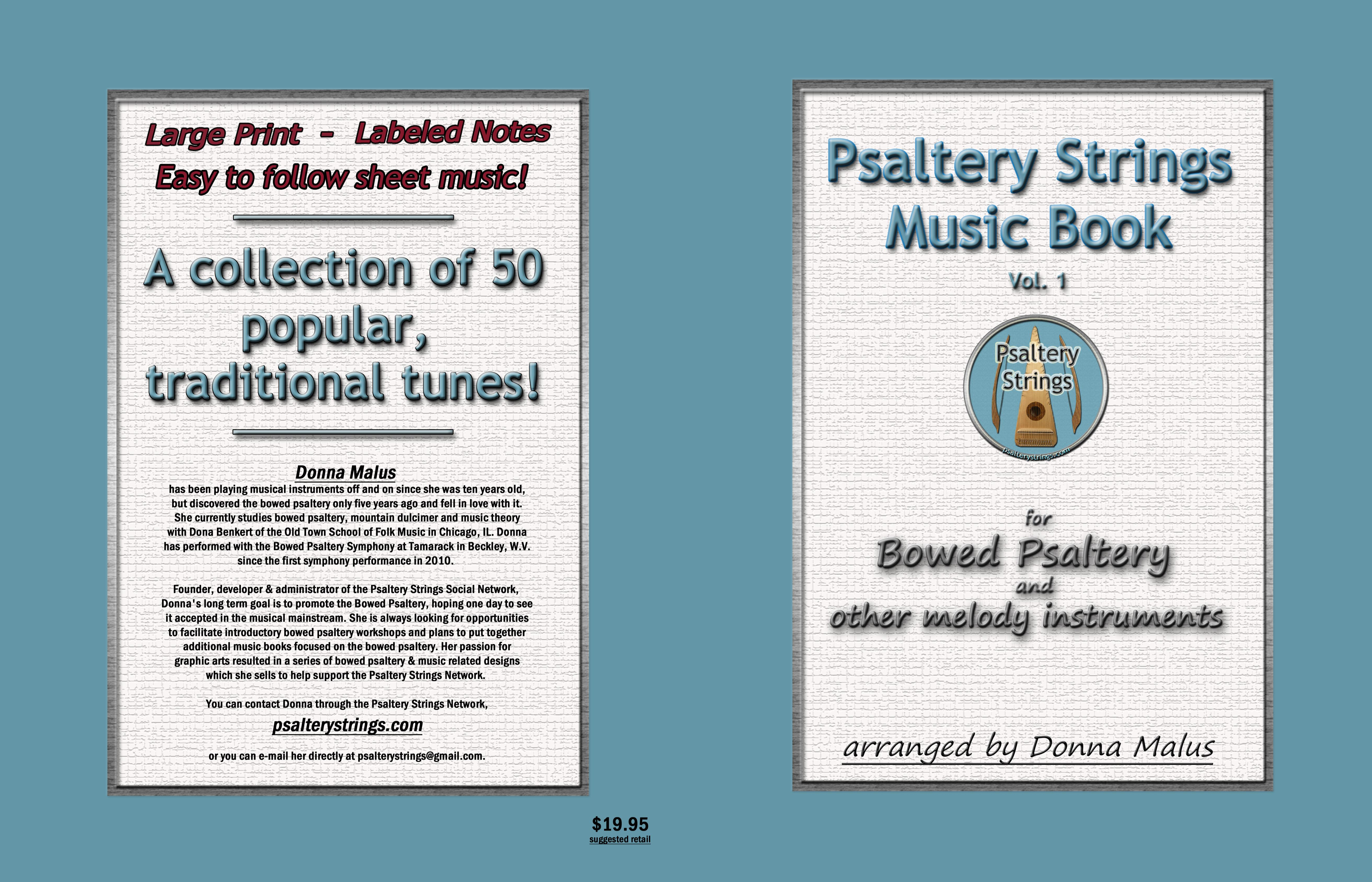 Psaltery Strings Music Book cover image