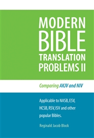 MODERN BIBLE TRANSLATION PROBLEMS II cover image
