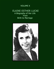 ELAINE LUCKE HUMMEL: BIRTH TO MARRIAGE cover image