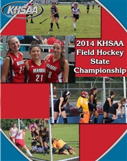 2014 KHSAA Field Hockey State Championship Program cover image